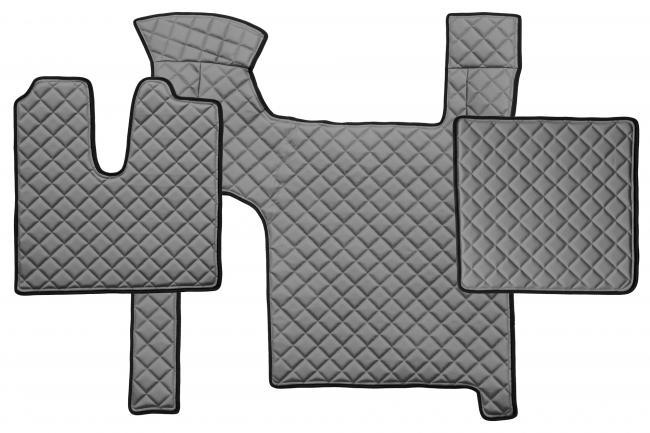 fl30 volle deckung lkw fu matten eco kunstleder man tgx manual zwei schublade trucks shop. Black Bedroom Furniture Sets. Home Design Ideas
